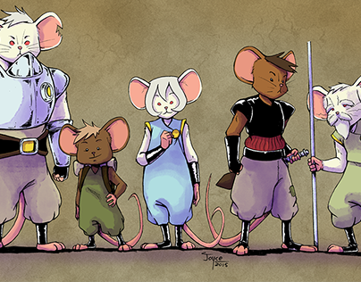 Rodentia - Personal Illustration Project