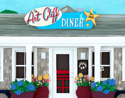 The Artcliff Diner Outside View