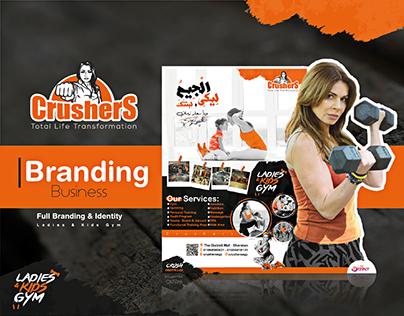 Crushers Gym - Full Branding