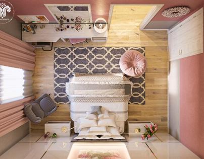 Pinky Girl Bedroom