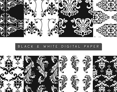 Free Damask Patterns Set