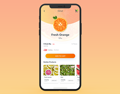 Grocer App Re-design