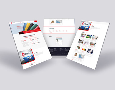 Arsmen Group Web Sitesi Çalışması, Web Design