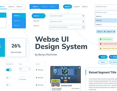 Webse UI Design System