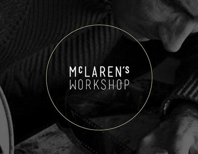 McLaren's Workshop app