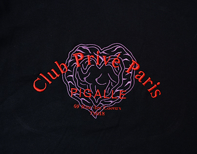 Club Privé Paris / Embroidery