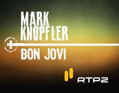 MARK KNOPFLER & BON JOVI | Palcos