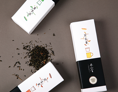 ​不二堂-好茶事 Tea packaging