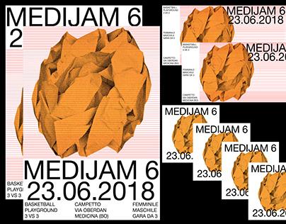 Medijam 6 - Visual Identity - Playground event - Sport