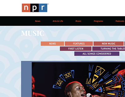 NPR Website Redesign