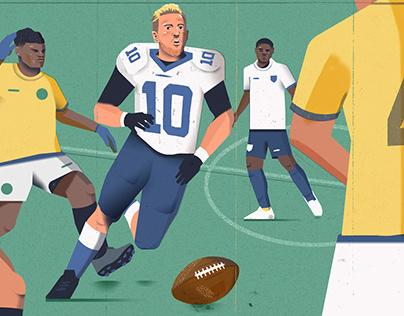 The Guardian: Kane + NFL