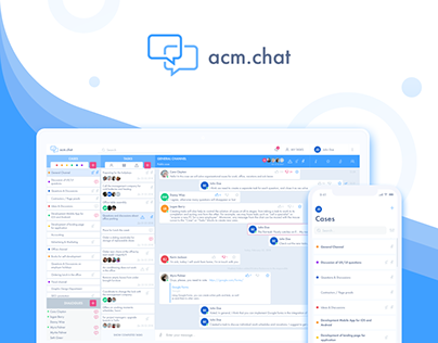 acm.chat - messenger with task management features