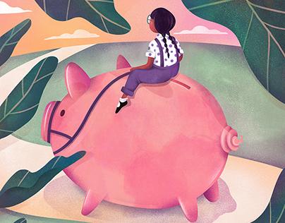 The Washingtonian : Financial Freedom for Kids