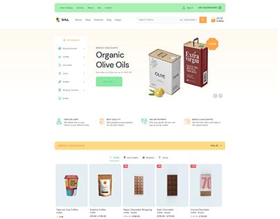 Teta - WooCommerce WordPress theme - groceries shop