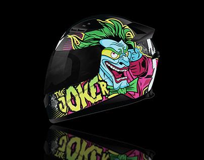 """Capacete """"Joker"""""""