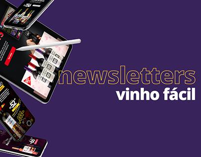 Newsletters • Vinho Fácil