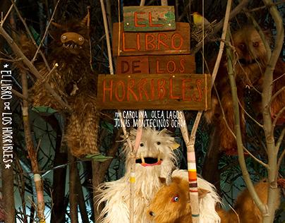 """""""El libro de Los Horribles"""" Realizado con maquetas"""