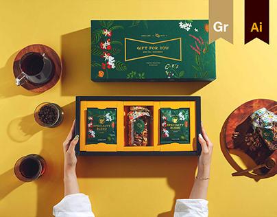 Gift of Nature | cama café Moon Festival Gift Design