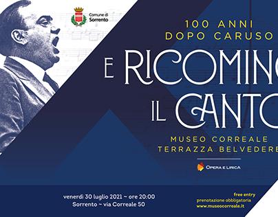 """""""E ricomincia il canto"""" 100 anni dopo Caruso"""