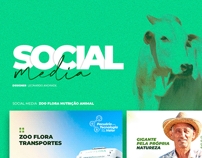Social Media | Zoo Flora Nutrição Animal