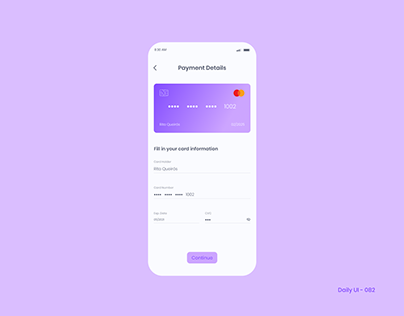 Daily UI 082 - Form