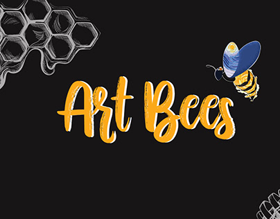 STICKERS FAMOUS ARTIST. Art Bees