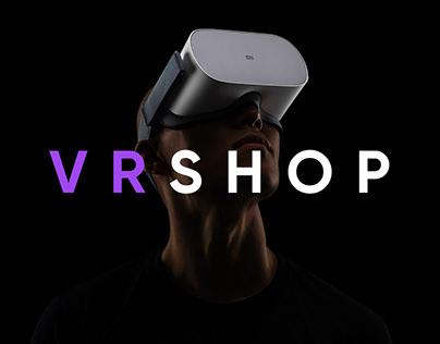 VR Shop — Website redesign