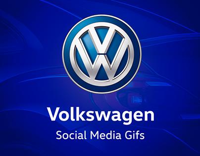Volkswagen Social Media Gifs