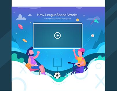 LeagueSpeed Landing Page
