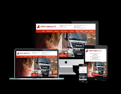Dennehy Commercial Website Design