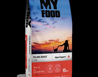 Myfood   Pet Food Ambalaj Tasarımı   Package Design