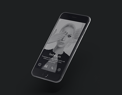 Concept of Bubble Mobile Messenger — Application design