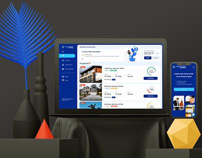 Investment Platform UI UX Design