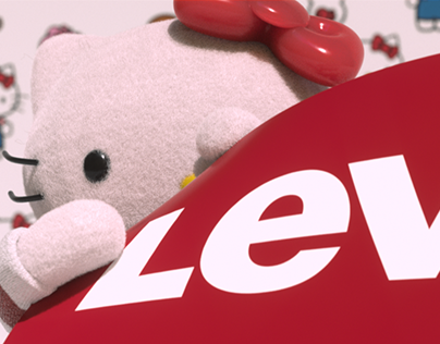Levis X Hello Kitty [CG & Motion Graphics]