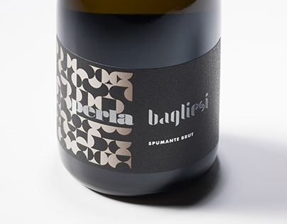 Azienda Agricola Bagliesi // sparkling label design