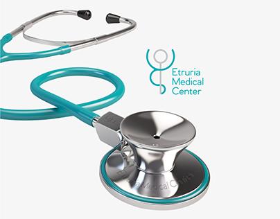 Etruria Medical Center - Brand Identity