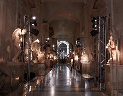 Da Vinci wears Gucci Marketing Campaign