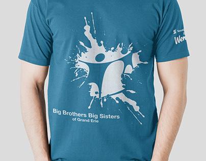 Big Brothers Big Sisters Tshirt Design