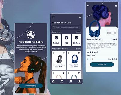 Headphone Store App