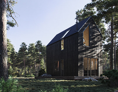 Forest cabin in Ritsona