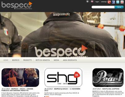 Sito web aziendale Bespeco