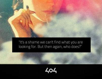 CSS3 Custom 404s