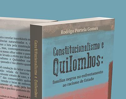 Book cover: Constitucionalismo e Quilombos