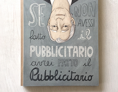 Dolci Advertising - Illustrated Book