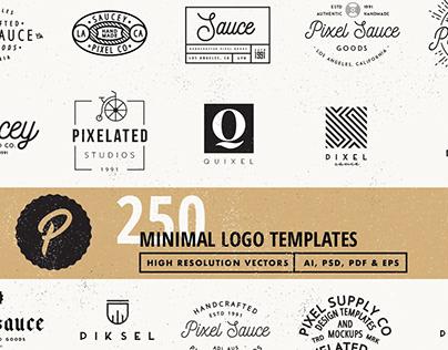 250 Vector Logo Templates