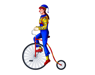 Circus - Skill Game Character - Joker