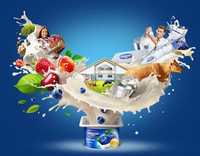 Danone «Everything starts with milk»
