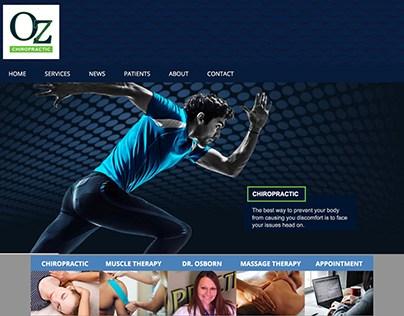Oz Chiropractic Website