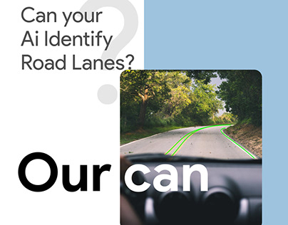 Can your ai identify road lanes?