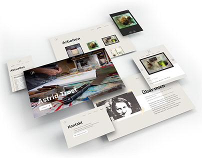 Homepage Astrid Trost